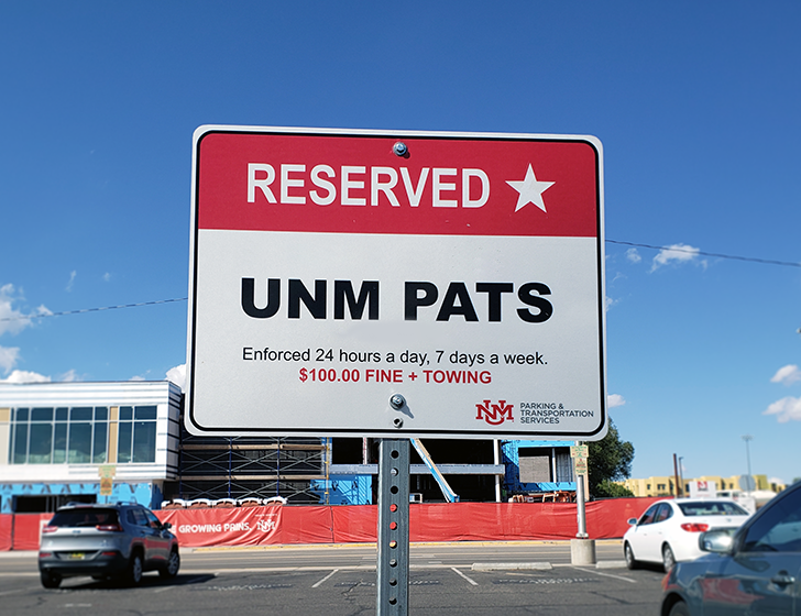 PATS reserved space