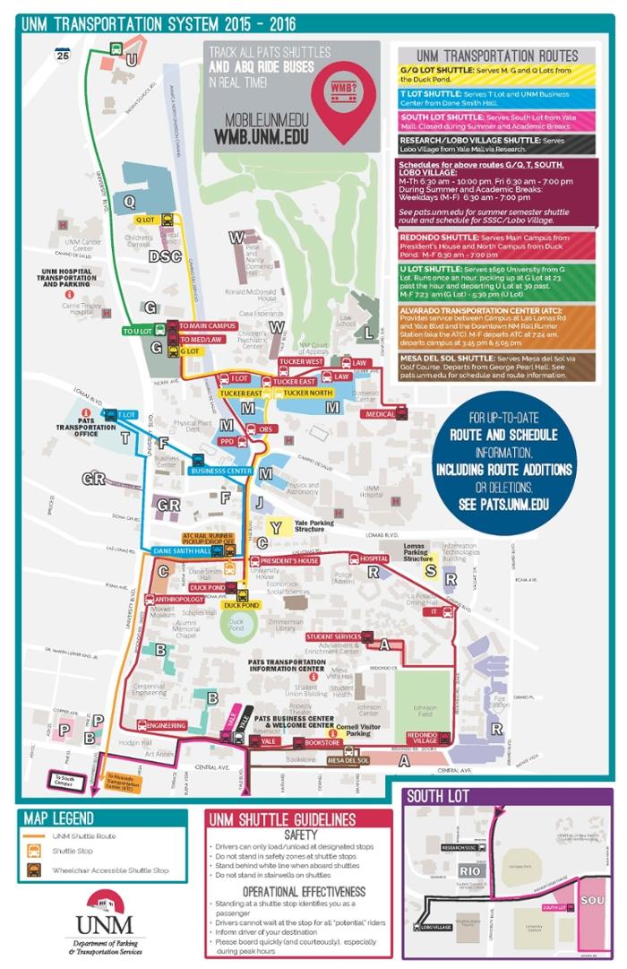 PATS Map :: Parking & Transportation Services